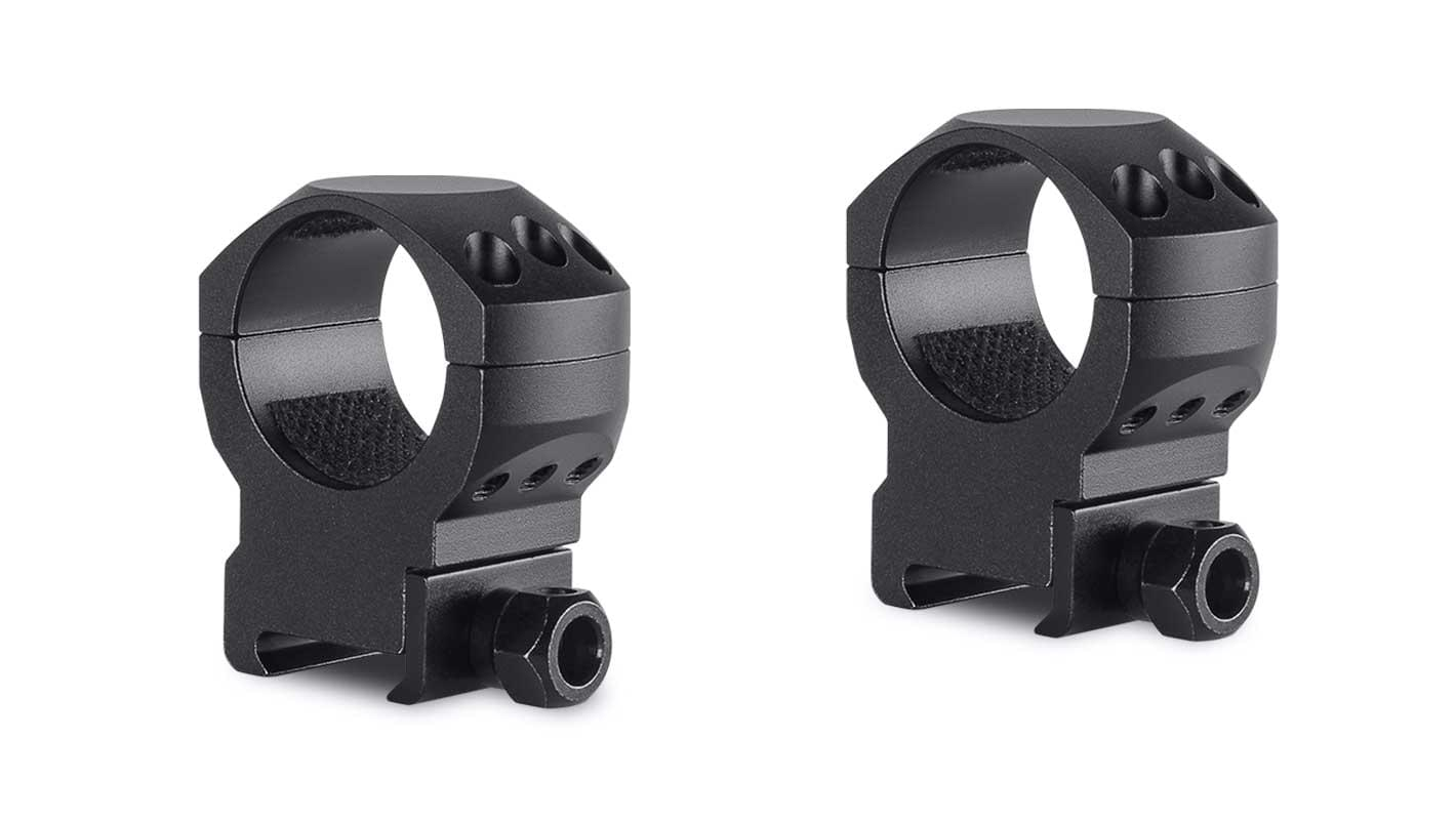 Tactical Ring Mounts 30mm 2 Piece  Weaver High